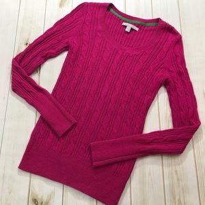 Old Navy Womens Cable Knit Sweater Size Small